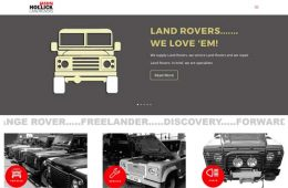 LAND ROVERS FOR SALE
